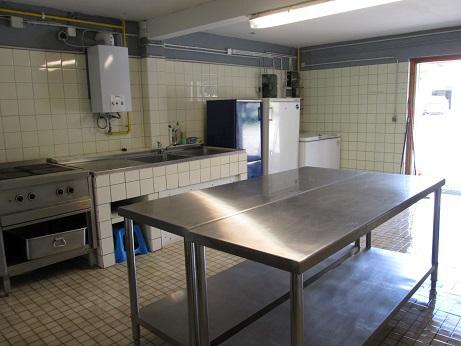 Camping Sommerküche : Zeltplatz poehlde sommerküche
